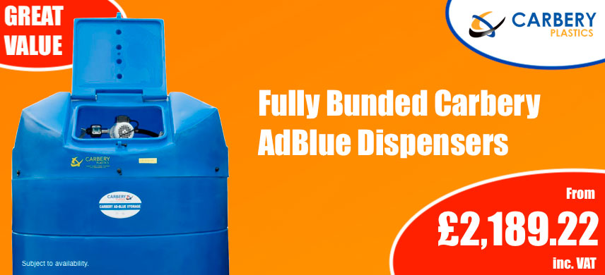 Autumn Carbery Blue Point AdBlue Promotion