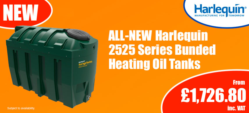Autumn Harlequin 2525HQi 2525ITE 2525ITT Bunded Oil Tank Promotion