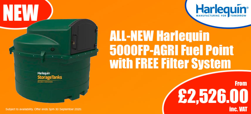 Autumn Harlequin 5000FP-AGRI Fuel Point Promotion