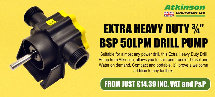 Atkinson Drill Pump