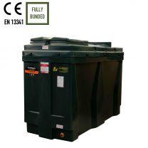 Carbery 1100RB Rectangular Bunded Slimline Heating Oil Tank