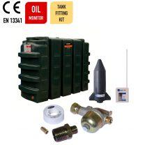 Carbery 1100RP Rectagular Slimline Plus Carbery Heating Oil Tank