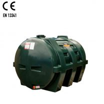 Carbery 1350H Horizontal Single Skin Plastic Heating Oil Tank