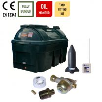 Carbery 1350HBU Horizontal Bunded Heating Oil Tank with Apollo Ultrasonic Tankpack