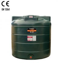 Carbery 1350V Vertical Plastic Single Skin Heating Oil Tank