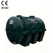 Carbery 1550H Horizontal Plastic Single Skin Heating Oil Tank