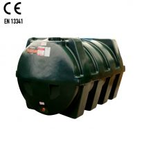 Carbery 2500H Horizontal Plastic Single Skin Heating Oil Tank