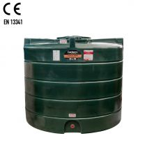 Carbery 2500V Vertical Plastic Single Skin Heating Oil Tank