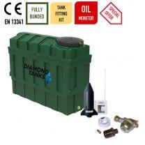 Diamond 1000SSL Superslim Bunded Plastic Heating Oil Tank