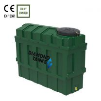 Diamond 1000SSL Slimline Bunded Oil Tank from Harlequin Manufacturing