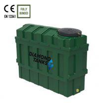 Diamond 1000SSL Slimline Bunded Oil Tank from Harlequin Manufacturing