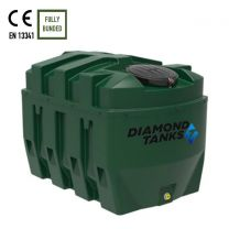 Diamond 1650HZB Horizontal Bunded Oil Tank by Harlequin Manufacturing Limited