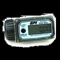 "GPI 1"" ISO (F) Electronic Digital Turbine Flow Meter - Nylon"