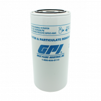 GPI Replacement 10-micron 67lpm Particulate and Water Diesel Cartridge Filter