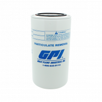 GPI Replacement 10-micron 67lpm Particulate Diesel Cartridge Filter