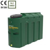 Harlequin 1000HQi Plastic Slimline Bunded Heating Oil Tank
