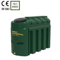Harlequin 1300HQi Slimline Bunded Plastic Heating Oil Tank