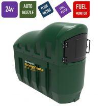 24v 1,300 litres Bunded Diesel Tank - Harlequin 1300SLFS Fuel Station with HVO Upgrade Option