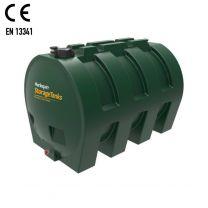 Harlequin 1400HZ Horizontal Plastic Single Skin Heating Oil Tank