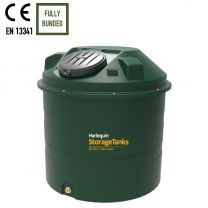Harlequin 1450HQi Bunded Vertical Plastic Heating Oil Tank