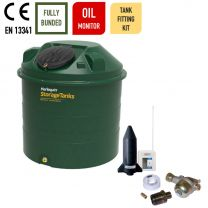 Harlequin 1450ITE Vertical Bunded Plastic Heating Oil Tank