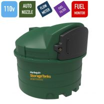 Harlequin 2500FS 110v Fuel Station Bunded Diesel Tank