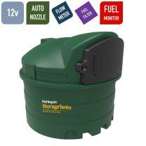 12v 2,500 litres Bunded Diesel Tank - Harlequin 2500FS Fuel Station with HVO Upgrade Option