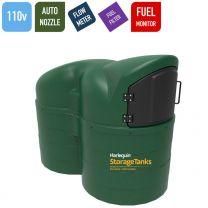Harlequin 2500SLFS Fuel Station Slimline Bunded Diesel Tank - 110v AC