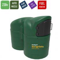 Harlequin 2500SLFS Fuel Station Slimline Bunded Diesel Tank - 230v AC
