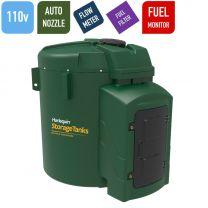 Harlequin 7500FS Fuel Station Bunded Diesel Tank - 110 volts