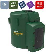 Harlequin 7500FS Fuel Station Bunded Diesel Tank - 12 volts DC