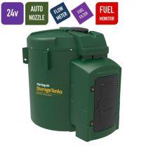 Harlequin 7500FS Fuel Station Bunded Diesel Tank - 24v