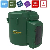 Harlequin 9250FS Fuel Station 110v Bunded Diesel Storage and Dispensing Tank