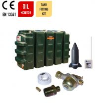 Carbery 900RP Compact Plus Plastic Single Skin Heating Oil Tank