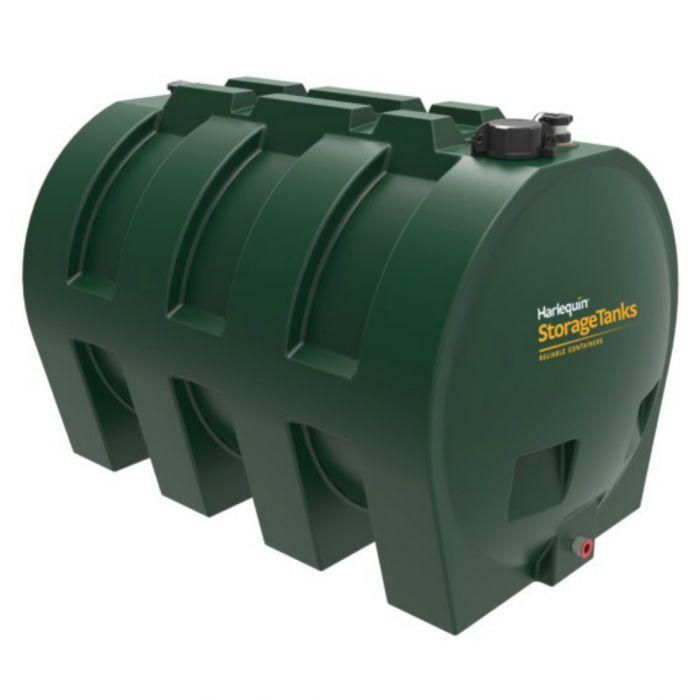 Harlequin 1400hz Horizontal Single Skin Heating Oil Tanks Shop Fuel Tank Store