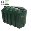 2,500 Bunded Oil Tank - Harlequin 2525HQi Horizontal