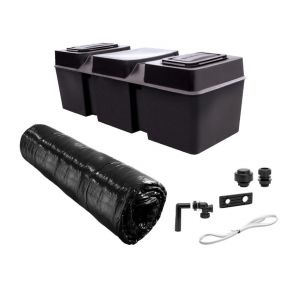 114 litres (25 Gallons) Cold Water Loft Tank Kit – Davant BMC25X-KIT 'Coffin'