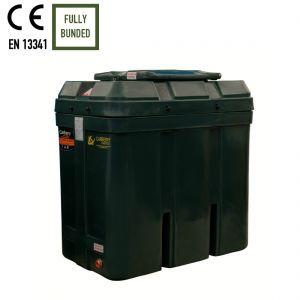 650 litres Bunded Oil Tank - Carbery 650RB Slimline Combi R