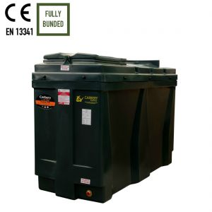900 litres Bunded Oil Tank - Carbery 900RB Slimline Compact