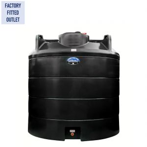 6,000 litres Non-Potable Water Tank - Carbery NP6000V Vertical