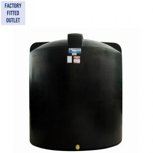 9,000 litres Non-Potable Water Tank - Carbery NP9000V Vertical