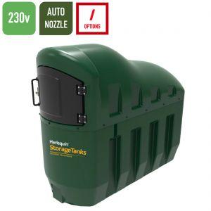 230v 1,300 litres Bunded Diesel Tank - Harlequin 1300SLFP-230 Fuel Point Slimline