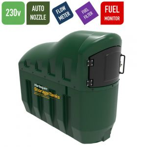 110v 1,300 litres Bunded Diesel Tank - Harlequin 1300SLFS Fuel Station with HVO Upgrade Option