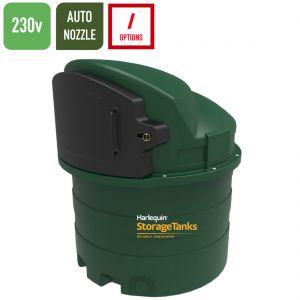230v 1,400 litres Bunded Diesel Tank - Harlequin 1400FP-230 Fuel Point
