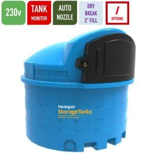 230v 2,500 litres Bunded AdBlue Tank - Harlequin 2500BS-230 Blue Station