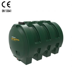 2,500 litres Heating Oil Tank - Harlequin 2500HZ Horizontal Single Skin