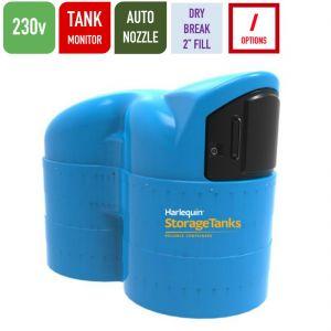 230v 2,500 litres Bunded AdBlue Tank - Harlequin 2500SLBS-230 Blue Station Slimline