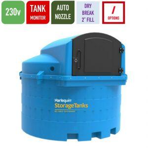 230v 3,500 litres Bunded AdBlue Tank - Harlequin 3500BS-230 Blue Station
