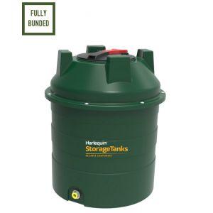 350 litres Bunded Oil Tank - Harlequin 350HQi Vertical