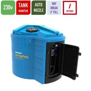 230v 5,000 litres Bunded AdBlue Tank - Harlequin 5000BS-230 Blue Station